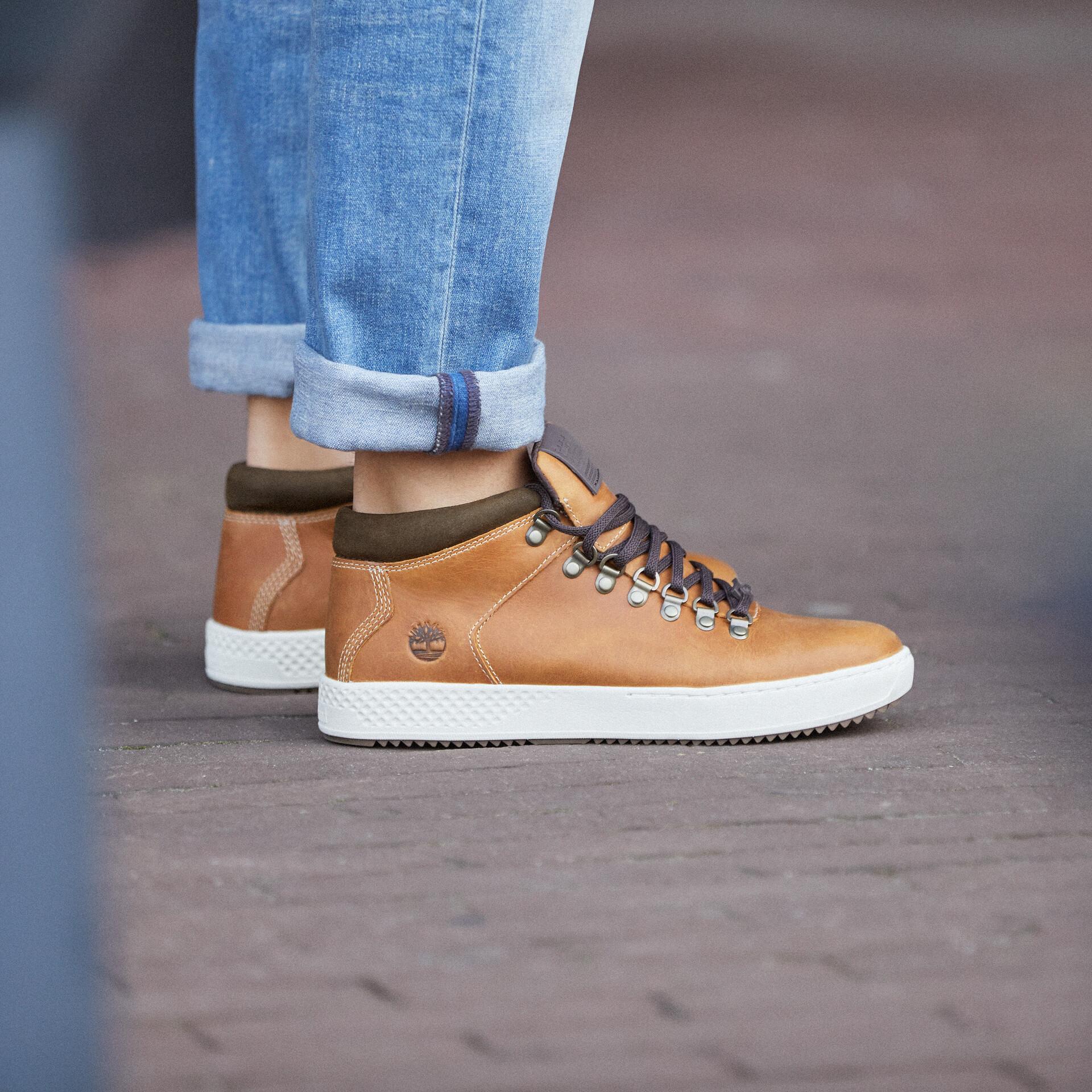 Timberland CityRoam Cupsole Chaussures Chukka Homme, olive full grain